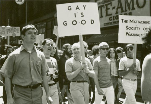 Gay Liberation Front was the very first