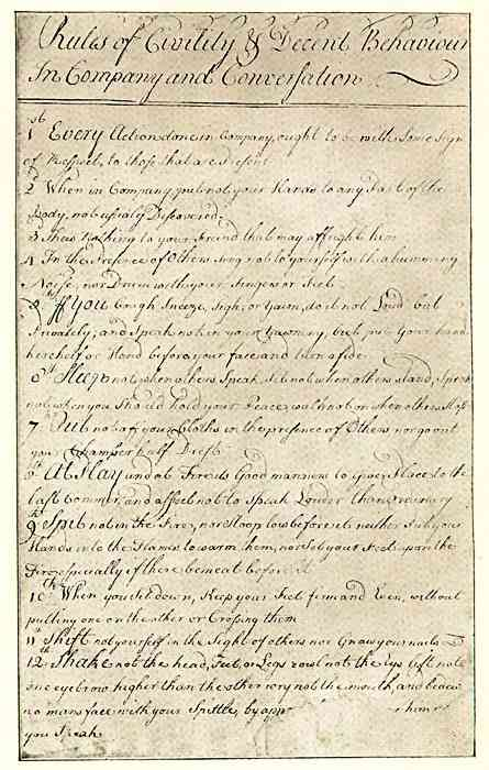 George Washingtons Rules of Civility and Decent Behavior: ...And Other Important Writings