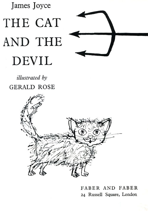 The Cat and the Devil: Rare Illustrations from James Joyce