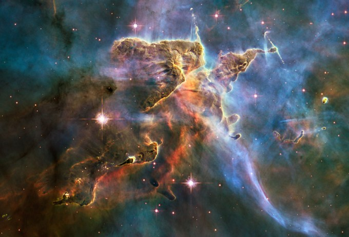 The Carina Nebula (public domain image courtesy of NASA)