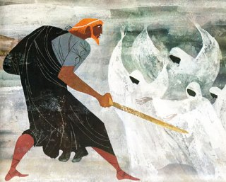 Homer for Young Readers: The Provensens' Vibrant Vintage Illustrations for the Iliad & Odyssey