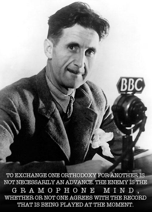 George Orwell - Magazine cover