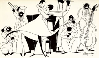 William Faulkner's Little-Known Jazz Age Drawings, with a Side of Literary Derision