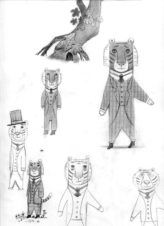 Mr. Tiger Goes Wild: A Charming Modern-Day Fable about