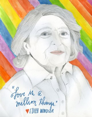 Edie Windsor, Patron Saint of Modern Love
