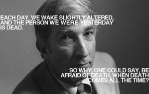 John Updike on Writing and Death