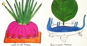 Wild Raspberries: Young Andy Warhol's Little-Known Vintage Cookbook