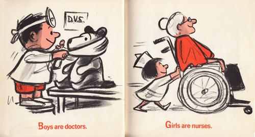 Im Glad Im A Boy Im Glad Im A Girl A Vintage Parody Of Gender