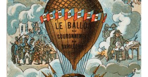 Falling Upwards: An Illustrated History of the Golden Age of Hot Air Balloons and How We Conquered the Skies