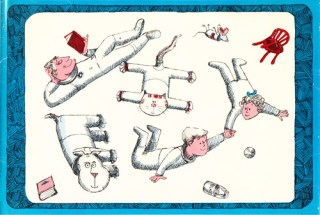 Weight and Weightlessness: The Science of Life in Space, in Charming Vintage Illustrations