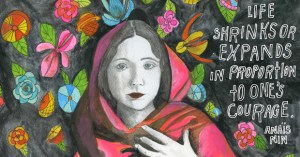 Anaïs Nin on Love and Life, Illustrated