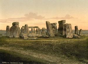 Virginia Woolf Visits Stonehenge