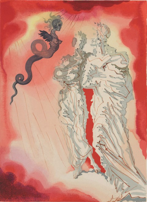 Salvador Dali S Sinister And Sensual Paintings For Dante S