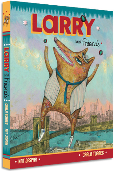 Larry and Friends: An Illustrated Ode to Immigration, Diversity, Otherness, and Kindness