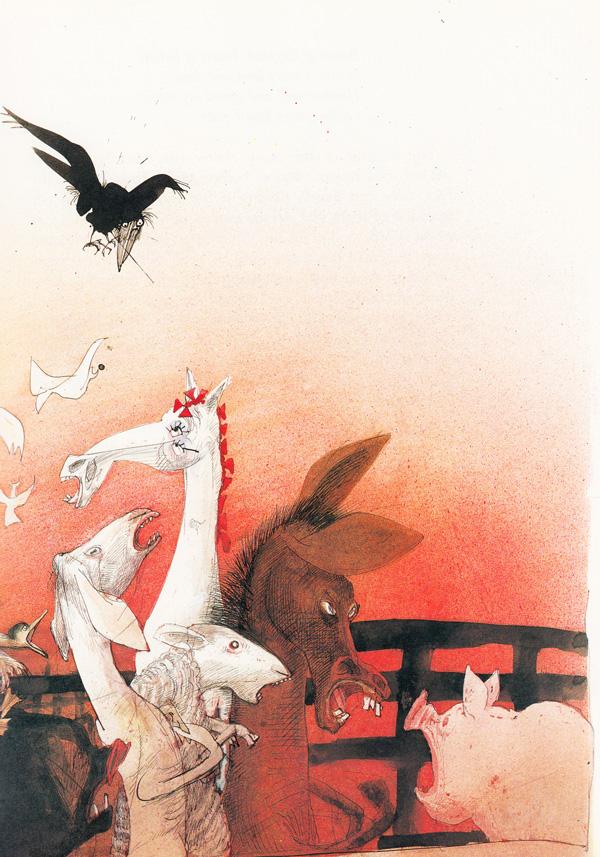 George Orwell's Animal Farm Illustrated by Ralph Steadman