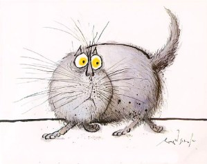 The Original Cartoon Canon of Lolcats: Legendary British Artist Ronald Searle's 1960s Cat Drawings