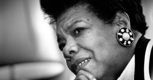 Maya Angelou on Courage and Facing Evil