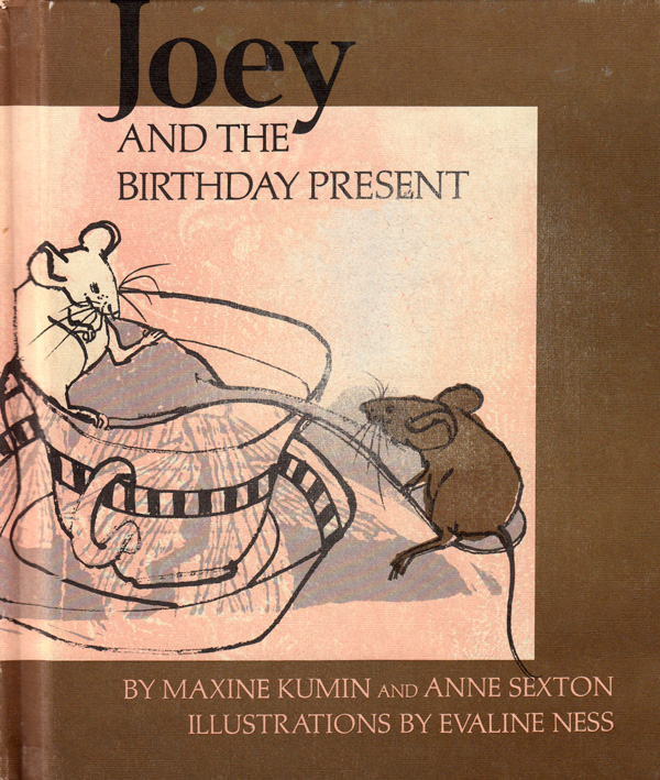 Joey and the Birthday Present: Wonderful Vintage Illustrations from Anne Sexton's Little-Known 1971 Children's Book
