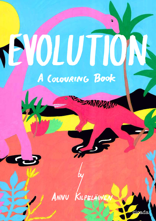 Evolution: A Coloring Book – Brain Pickings