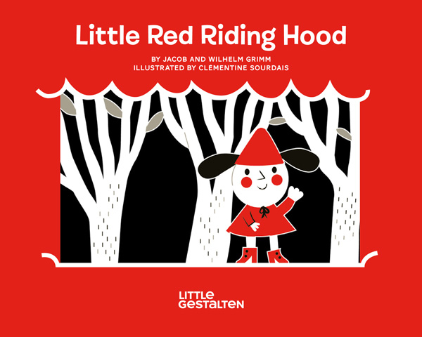 Little Red Riding Hood, Reimagined in Unusual Die-Cut Illustrations