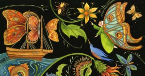 Maria Merian's Butterflies: The Illustrated Story of How a 17th-Century Woman Forever Changed the Course of Science Through Art