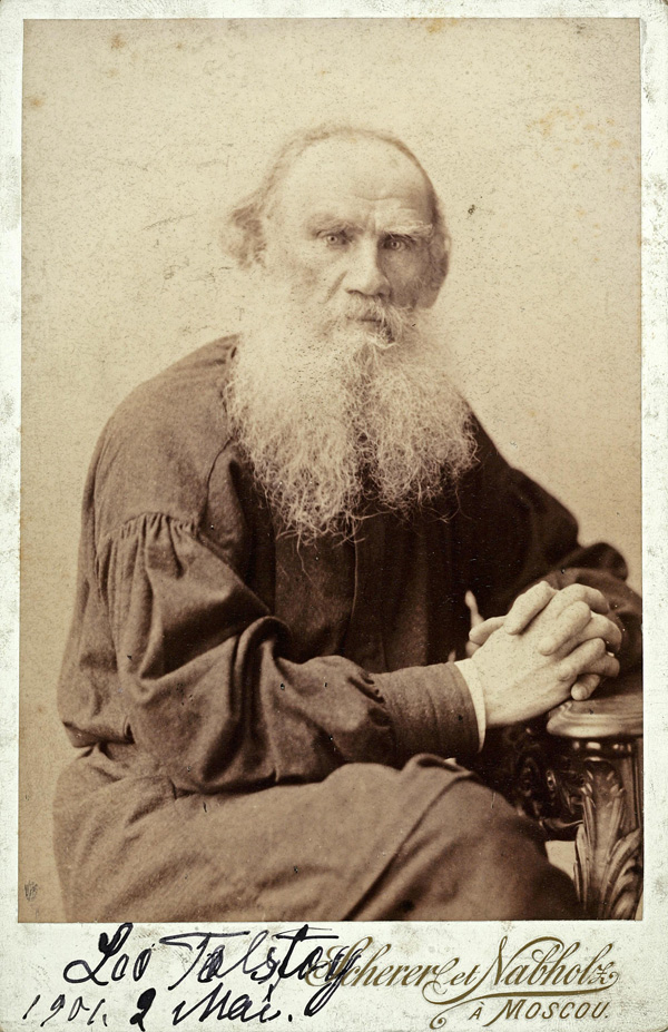 The Demands of Reason and Love: Leo Tolstoy on Human Nature - @brainpickings Artes & contextos leotolstoy