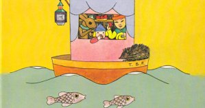 """The Magic Boat: A Brilliant Vintage """"Interactive"""" Children's Book by Freud's Eccentric Niece Named Tom"""