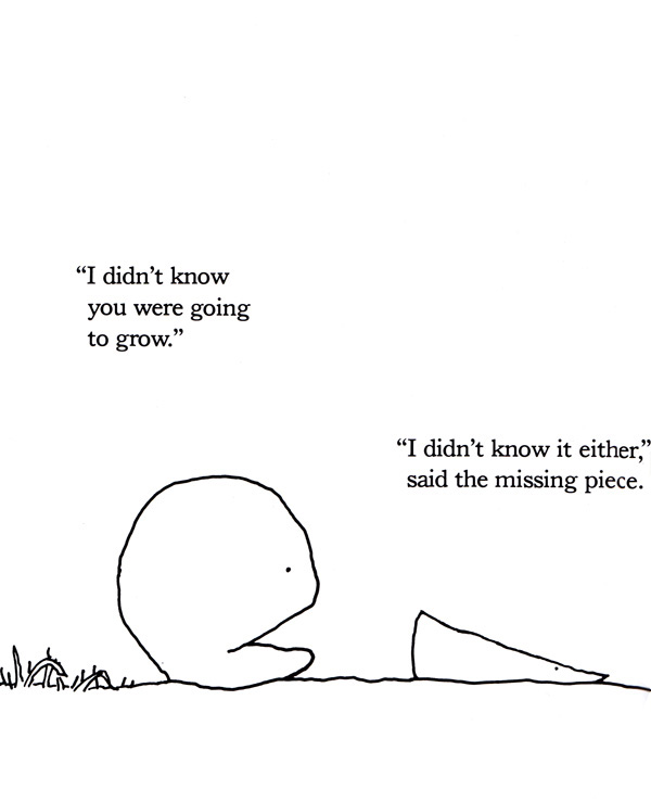 The Missing Piece Meets the Big O: Shel Silverstein\'s Sweet Allegory ...