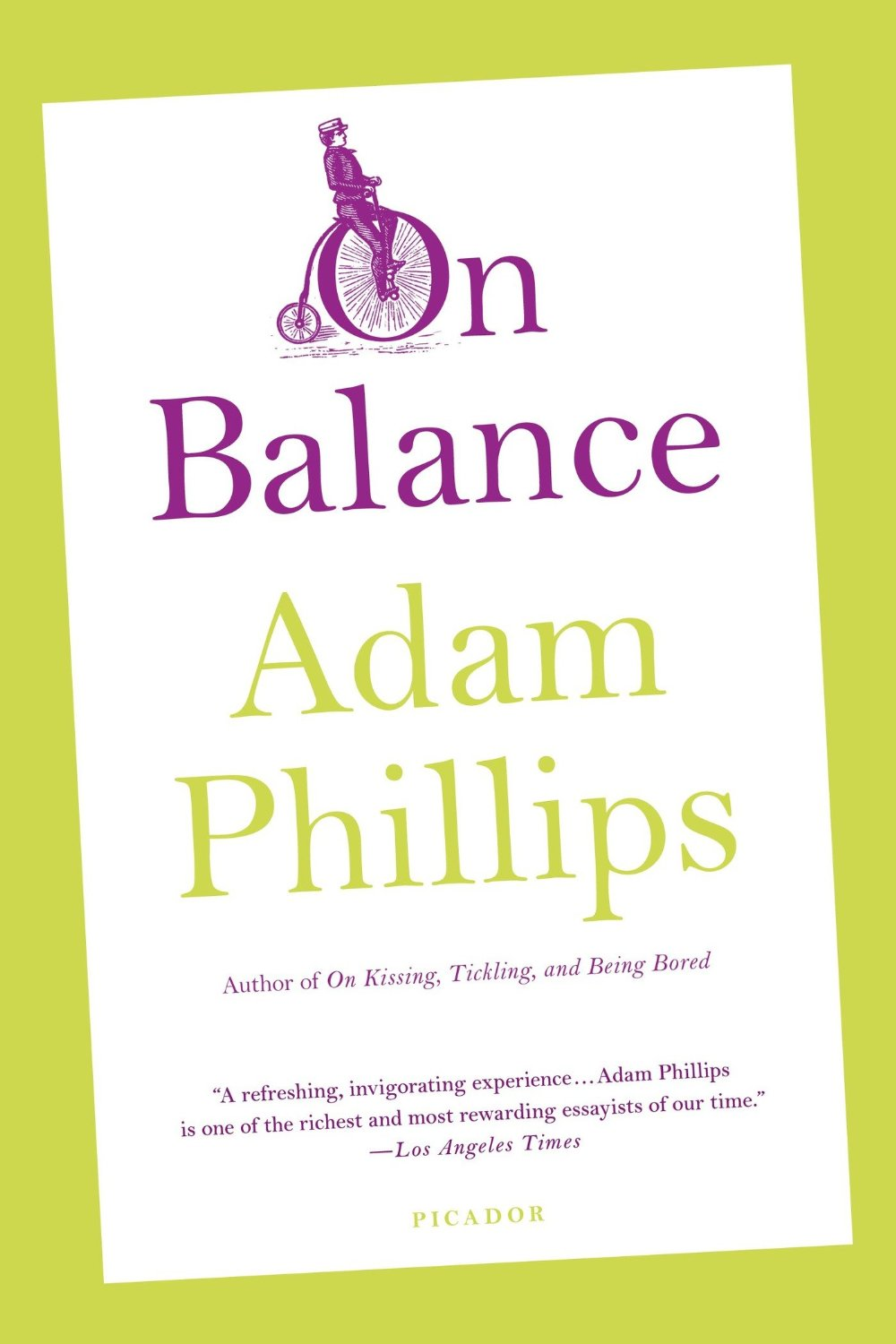 On Being Too Much for Ourselves: Psychoanalyst Adam Phillips on Balance and the Necessary Excesses of Life