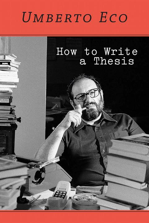 Umberto Eco's Advice to Writers