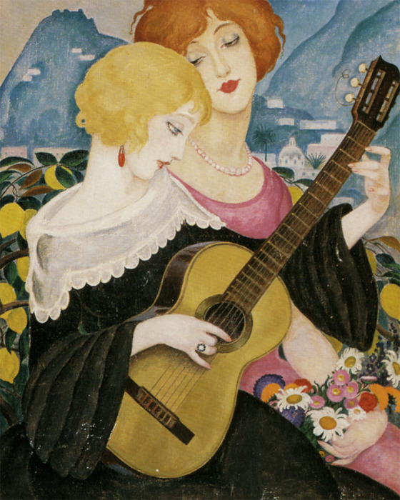 """Air de Capri"" by Gerda Wegener, 1923"