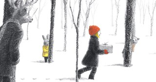 The Tea Party in the Woods: A Tender Modernist Fairy Tale by Japanese Artist Akiko Miyakoshi