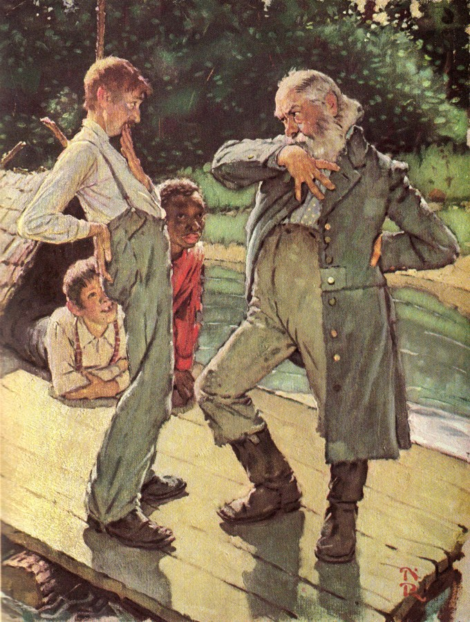 the boy that made a difference in adventures of huckleberry finn by mark twain Chapter 30: the king went for him—a royal row—powerful mellow free audiobook of mark twain's adventures of huckleberry finn audio courtesy of librivox.