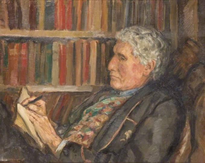 John Cowper Powys by Gertrude Mary Powys (1944)