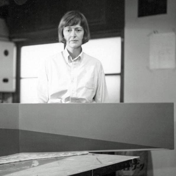 Anne Truitt in Tokyo, 1966