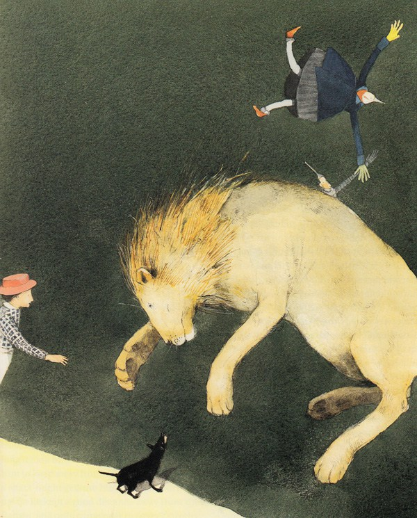 Art by Lisbeth Zwerger from a rare edition of The Wonderful Wizard of Oz