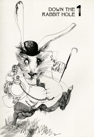 """The Story of How Alice in Wonderland Was Born and Amanda Palmer's Magnificent Brass Band Cover of """"White Rabbit"""""""