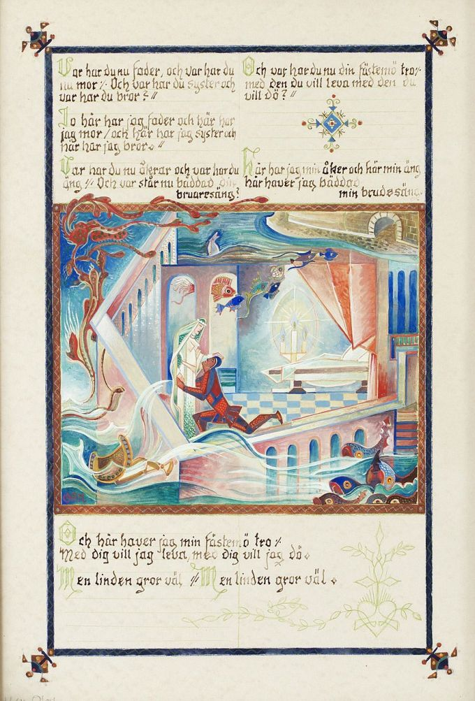 Beautiful Vintage Illustrations for Scheherazade's Stories