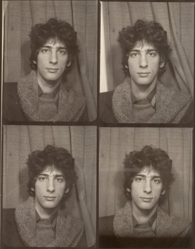 Neil Gaiman at age 17, from The Art of Neil Gaiman