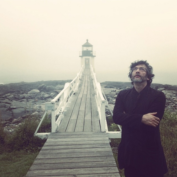 Neil Gaiman (Photograph: Amanda Palmer)