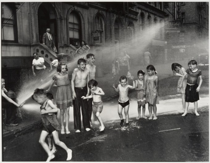 """""""Summer on the Lower East Side"""" by Weegee, 1937 (International Center of Photography)"""