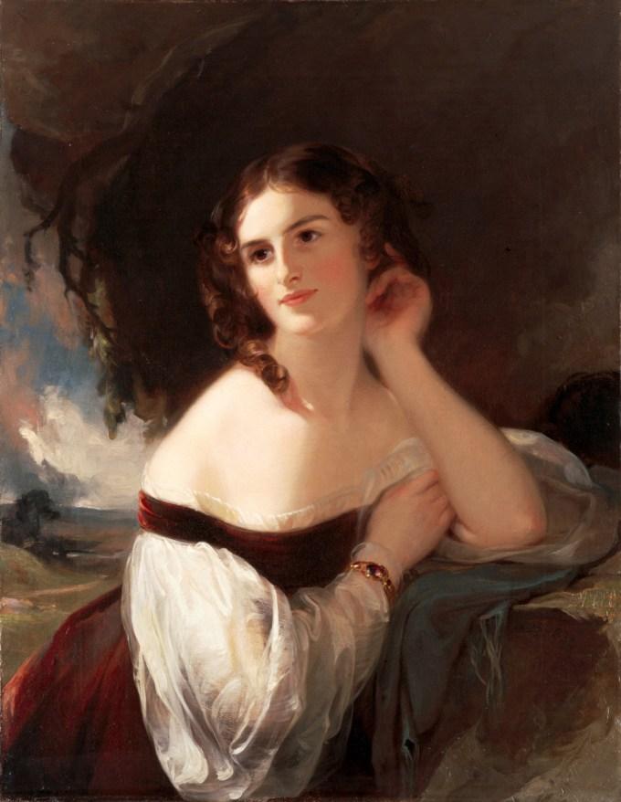Fanny Kemble by Thomas Sully, 1834
