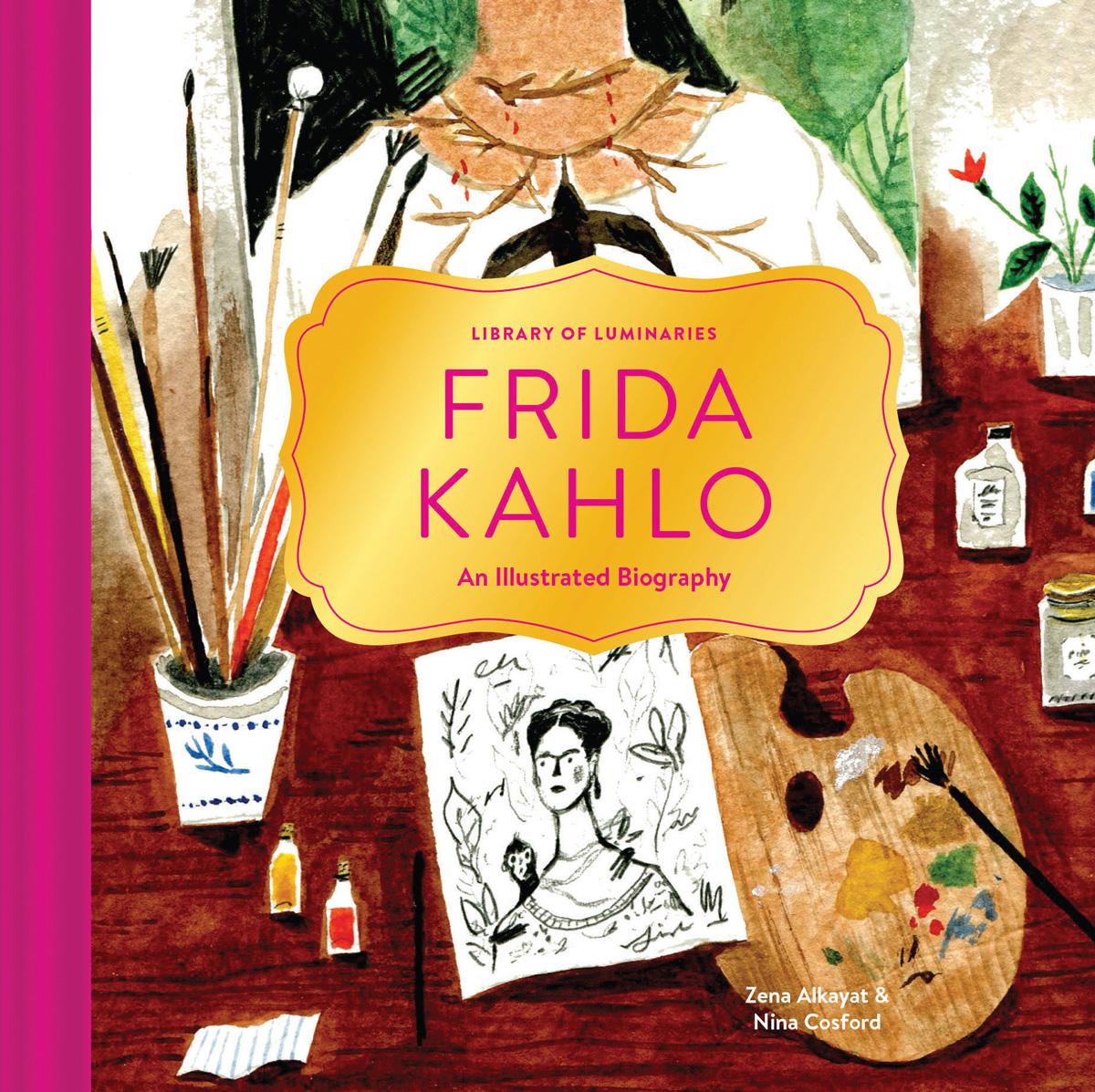 Frida Kahlo's Illustrious Life, Illustrated