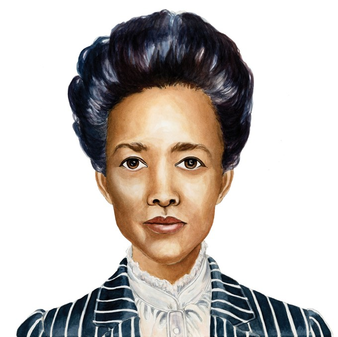 """Human rights activist and social reformer Ella Baker """"deserves recognition as the City's — and the country's — first lady of civil rights. (Art by Hallie Heald for The Women Who Made New York)"""