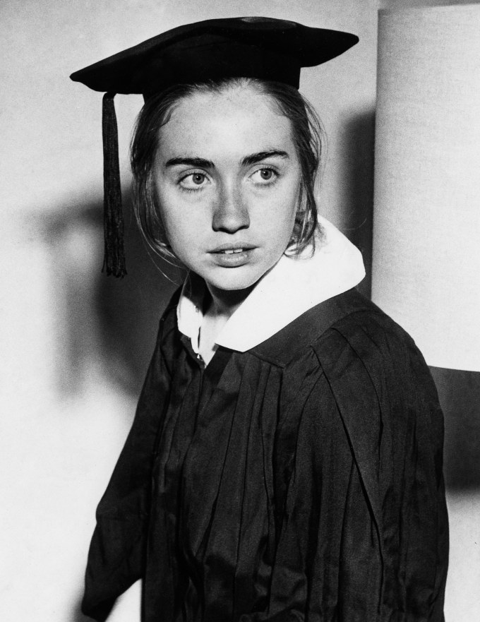 21-year-old Hillary Rodham, Wellesley College, 1969