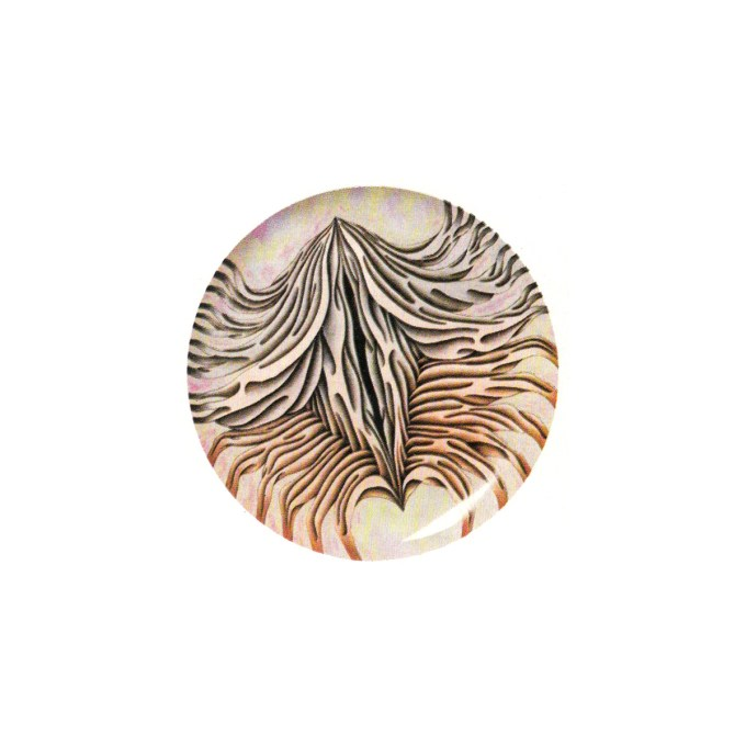 Anne Hutchinson plate (Judy Chicago, The Dinner Party, 1979)