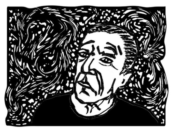Art by Leonard Cohen from Fifteen Poems