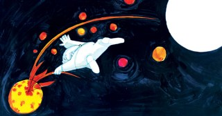 Moon Man: Tomi Ungerer's Timeless Vintage Illustrated Fable of How Fear and Cynicism Blind Us to Benevolence