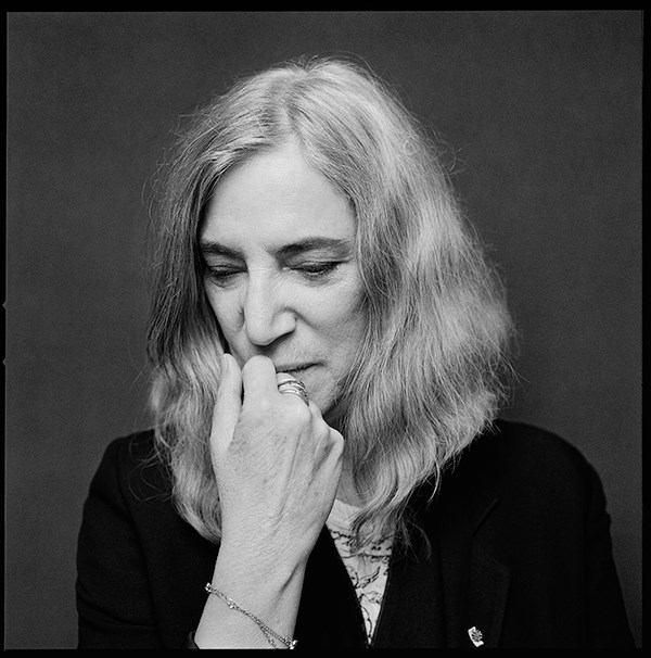 Patti Smith (Photograph: Jesse Ditmar)
