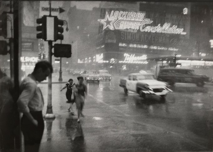 "Carl T. Gosset Jr./ The New York Times: ""This Photo Was Made Just before 4 P.M.  at Broadway and 43rd Street, Looking East across Times Square."" July 24, 1959. (Courtesy of The Museum of Modern Art, New York. The New York Times Collection. © 2016 The New York Times)"